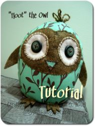DIY Hoot the Owl  Pinned by www.myowlbarn.com