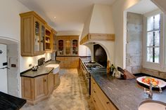 Château Renovation North Dordogne - Kitchen Finished
