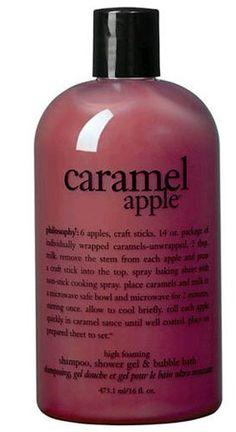 Philosophy Caramel Apple Shower Gel  Bubble Bath 16 Oz. by Philosophy