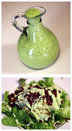 Marie's Cooking Adventures: Creamy Cilantro-Lime Salad Dressing