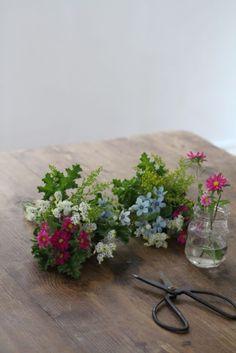 花の手土産を持っていくときにできる、気軽な3つの方法 の画像|美的な押し花 カリグラフィー 花生活