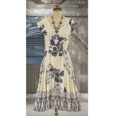 Melissa Back-Tie Floral Dress - Cowgirl Delight Social Dresses, White Mini Dress, Western Dresses, Tie, Formal, Lady, Vintage, Outfits, Fashion