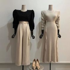 Best Vintage Outfits Part 8 Modest Fashion, Hijab Fashion, Fashion Dresses, Seoul Fashion, Korea Fashion, Mode Ulzzang, Vintage Outfits, Vintage Fashion, Mode Chic