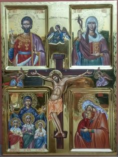 Byzantine Icons, Icon Collection, Orthodox Icons, King Of Kings, Religious Art, Icon Design, Christianity, Nostalgia, Saints
