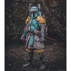 Star Wars Boba Fett Samurai Figure