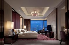 Penthouse Bedroom by Steve Leung Design