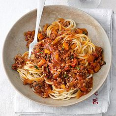 Spaghetti Bolognese a la mama! Probiert es aus!