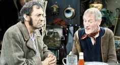 Steptoe And Son 1962 - 1974 - Starring Wilfred Bramble as 'Albert' & Harry.Corbett 'Harold' not forgetting their horse 'Hercules' British Tv Comedies, Classic Comedies, British Comedy, 1970s Childhood, Childhood Memories, Steptoe And Son, Sanford And Son, Comedy Tv, Great Tv Shows