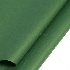 Dark Green Tissue Paper | Coloured Bags | Carrier Bag Shop