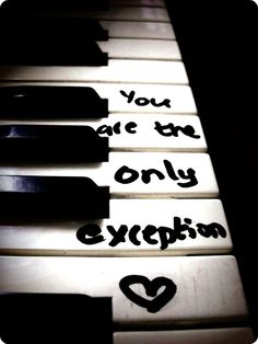 only exception - paramore