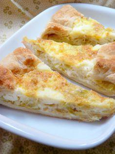 La Cucina dello Stivale: Torta salata porri e robiola