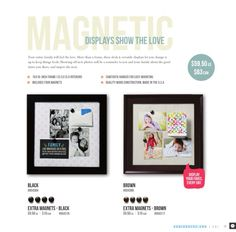 Magnetic Displays - one of my fav ways to celebrate  decorate quick  easy!