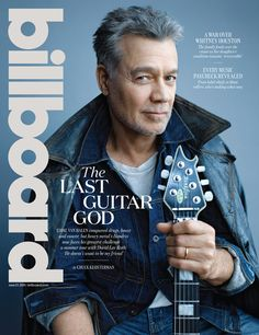 Eddie Van Halen photographed by Chrissy Olsen in Studio City, California on May 29, 2015.
