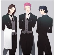 Hisoka and illumi zoldyck chrollo lucilfer Hunter x Hunter adultrio