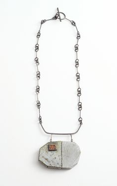 Tova Lund's Industrial and Natural Metal Jewelry   American Craft Council