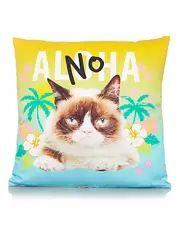 Grumpy Cat Cushion - 43x43cm