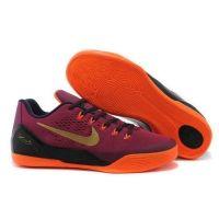 premium selection 6047e 2d2be 653972 678 Nike Kobe IX 9 EM XDR wine orange mens basketball shoes