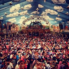 When you visit Munich, you must plan your trip to coincide with the renowned Oktoberfest. Have a stein or two with new friends from around the world. http://www.oktoberfesthaus.com