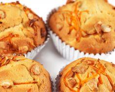 Carrot Cake Oat Muffins