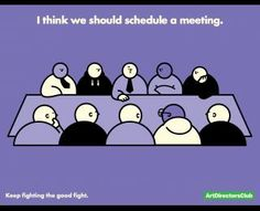 Meeting, Art Director's Club, DDB New York