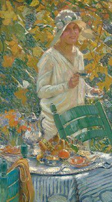 Portrait of the Artist's Daughter by William de Leftwich Dodge (USA)