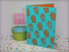 Laser Cut Birthday Present Pattern Card from Alexis Mattox Design