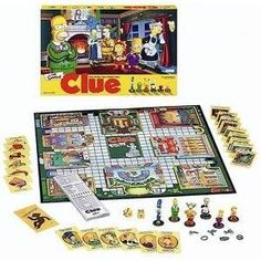 Simpson's Clue.  For the less obvious, Smither's plays a maid, Ms. White.  A good game injected with Groening-esque humor...