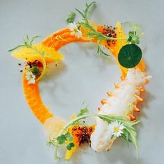 The Effective Pictures We Offer You About fish plate presentation dishes A qua. Lobster Appetizers, Cold Appetizers, Plate Presentation, Fish Plate, Modern Food, Appetizer Plates, Fish Dishes, Food Plating, Plating Ideas