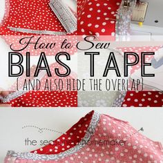 Attaching Bias Tape can make any sewing project stand out. Bias Tape is perfect for craft projects, too. Learn How to Sew Bias Tape the correct way.