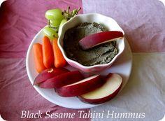 Black Sesame Tahini Hummus