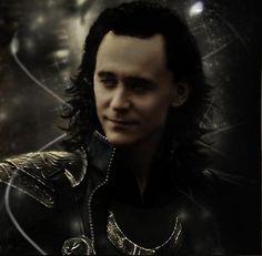 Loki <3 Damn, he is beautiful.