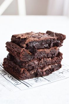 Sweets Recipes, Coffee Recipes, No Bake Desserts, Cake Recipes, Walnut Brownie Recipe, Brownie Recipes, Fudgy Brownies, Best Brownies, Yummy Treats
