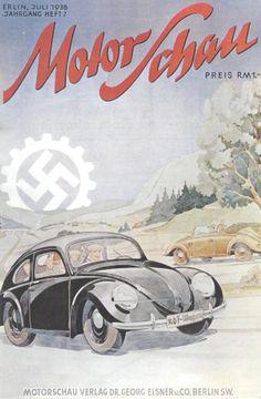 """Revista """"Motor Schau"""" Alemania 1938"""