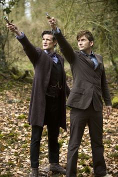 """Which makes The Day Of The Doctor the latest in a grand tradition of multi-Doctor specials. 