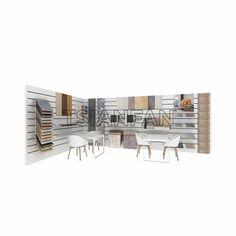 Tsianfan Industrial & Trading Co.,Ltd design and ceramic display stands, ceramic tile display, ceramic display rack. Office Interior Design, Office Interiors, Wooden Flooring, Laminate Flooring, Tile Showroom, Dining Table, Industrial, Display, Ceramics