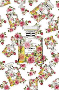 Floral Bottle, inspiring by Chanel 5 | FlowerStyle
