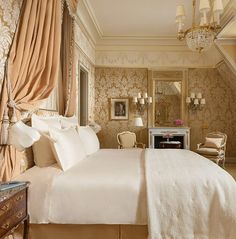 The Ritz Paris Hotel - SUITE F. SCOTT FITZGERALD - - Click to read the post or pin and save for later.