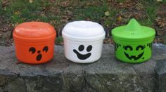McDonald's Halloween Pails… these were fun because the meal came inside of the pail