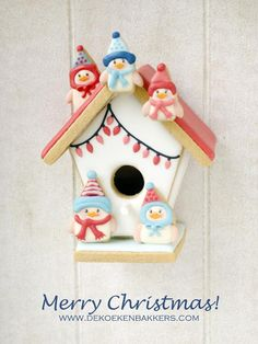 Christmas Cookie Bird House