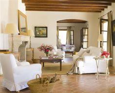 summer house in Spain --- http://www.elmueble.com/articulo/casas/2847/paraiso_campo.html#