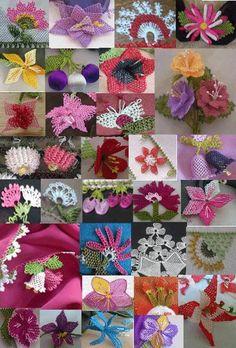 Ve Mekik Oyalari �rnekleri Modelleri I�ne Ile Mekik Oyas� Pictures Embroidery Needles, Ribbon Embroidery, Embroidery Patterns, Needle Tatting, Needle Lace, Crochet Unique, Bruges Lace, Types Of Lace, Fabric Embellishment