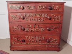 lots of Antique Chest of Drawers available now, Antique Chest of Drawers ranging from to From Antiques-Atlas, we ♥ antiques. Vintage Wooden Crates, Tea Display, Stain On Pine, Pine Chests, Painted Drawers, Antique Chest, Signwriting, Shop Fittings, Antique Cabinets
