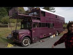 images of school buss campers | Tour of Double Decker School Bus Conversion - Tiny House | RV Living