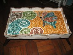 bandeja de cama - MOSAICO