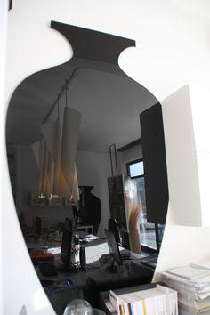 Particolare decorativo dell'arredo, area progettazione, studio IDEA - Pesaro. www.marcellogennari.it