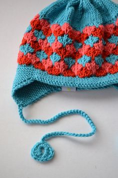 Rio Earflap Hat. Such a nice color combination.