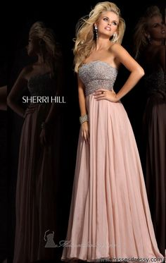 This dress was made for me!!!!! ;) showcases my style completely- 48 Sherri Hill Prom Dresses 2013