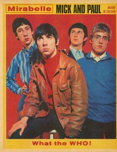 The Who - UK - Mirabelle - March 26, 1966 (back cover)