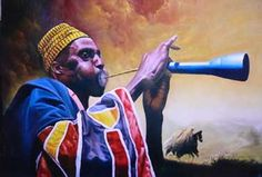 """""""He could hear in his mind's ear the blood-stirring and intricate rhythms of the ekwe and the udu and the ogene, and he could hear his own flute weaving in and out of them, decorating them with a colorful and plaintive tune"""" (6)."""