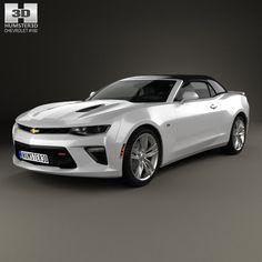 3D Chevrolet Camaro Ss Model - 3D Model
